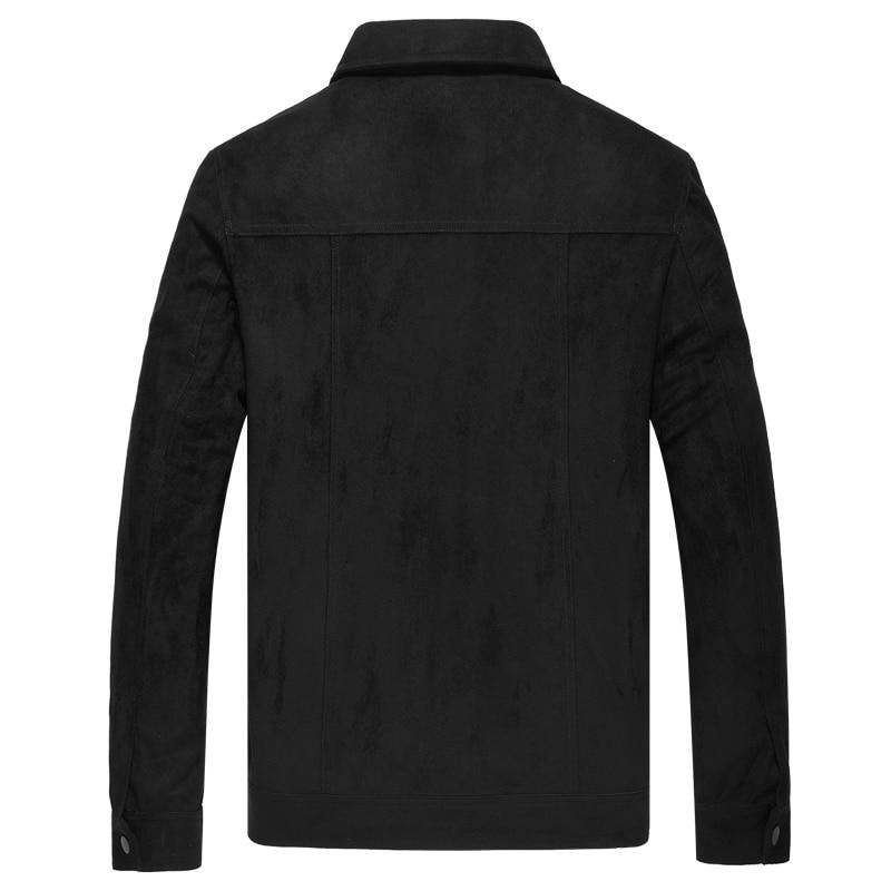 J84 artiste Printemps Black down Le Plus De Homme Slim Hommes Taille Col Polaire Outwear Automne Fit Casual Turn Vestes Pour Tops E Manteaux I2EH9D