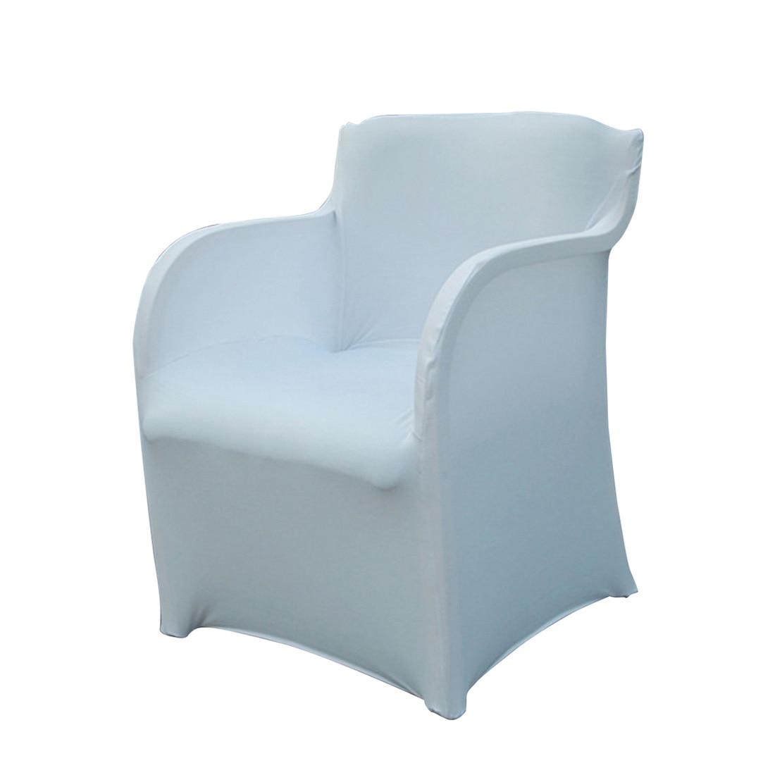 Top pārdošanas krēsls Slipcover Spandex Stretch Arm krēslu pārklājums kāzu svinību viesnīcas mājas piederumi 73 * 55CM