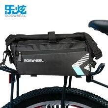 ROSWHEEL 8L Waterproof Bike Bag Bicycle Accessories Saddle Bag Cycling Mountain Bike Back Seat Rear Bags