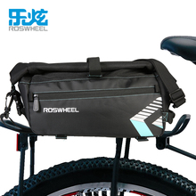 ROSWHEEL  8L Waterproof Bike Bag Bicycle Accessories Saddle Bag Cycling Mountain Bike Back Seat Rear Bags Single Shoulder Bag
