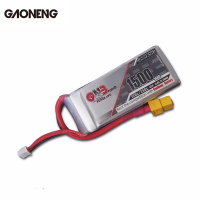 Hot Sale Original Gaoneng GNB 14.8V 1500mAh 4S 120C/240C Rechargeable Lipo Battery For FPV RC Quadcopter Racing Frame DIY