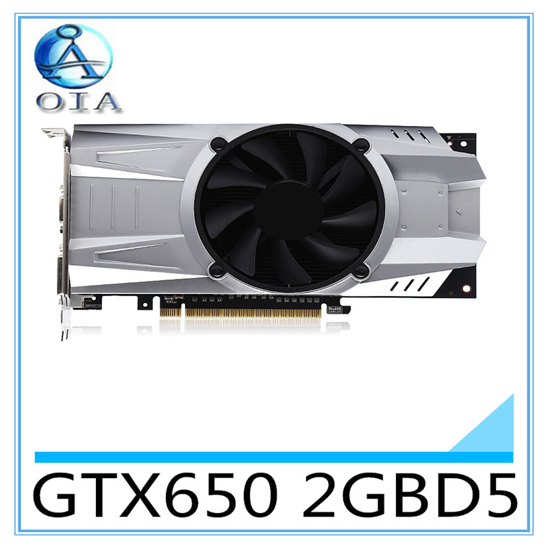 New Original Desktop Graphics Card GTX650 2GBD5 1059 5000MHZ 2G 128BIT desktop computer independent game card