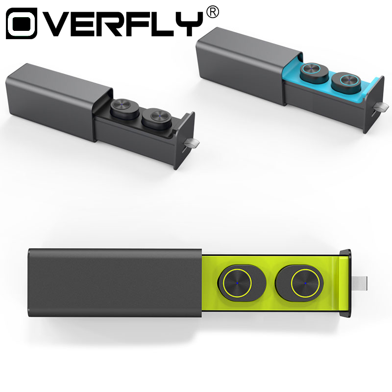Overfly Mini Bluetooth Headphones Wireless Earphones Bluetooth 4.2 Headsets Ster