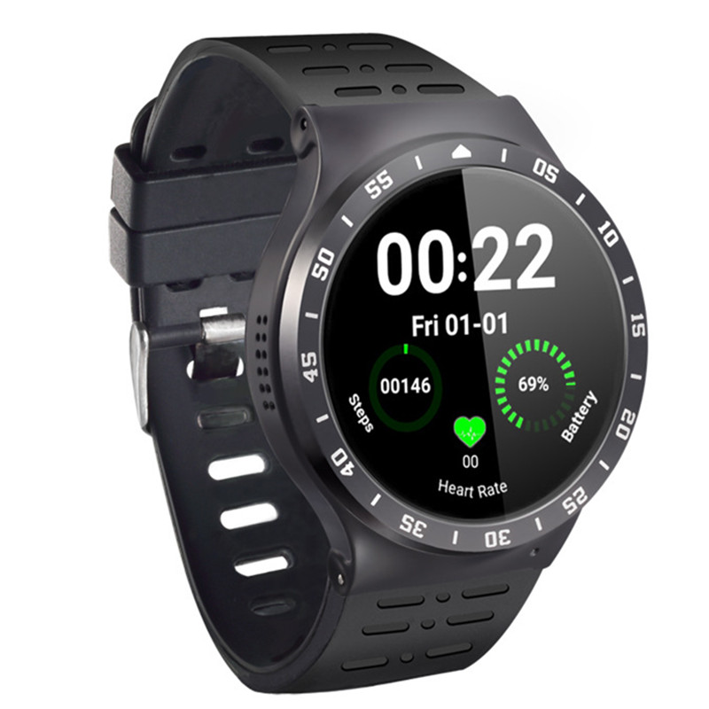 Smart watch Andrews 5.1 full round screen card player Bluetooth smartwatch mobile phone call 8G memory heart rate WiFi Internet