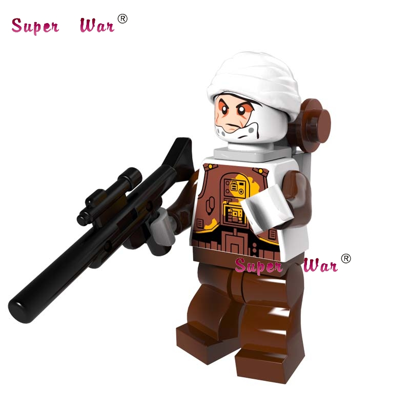 1PCS star wars The Grand Inquisitor super hero Ewok Dengar Bounty Hunter building blocks ...