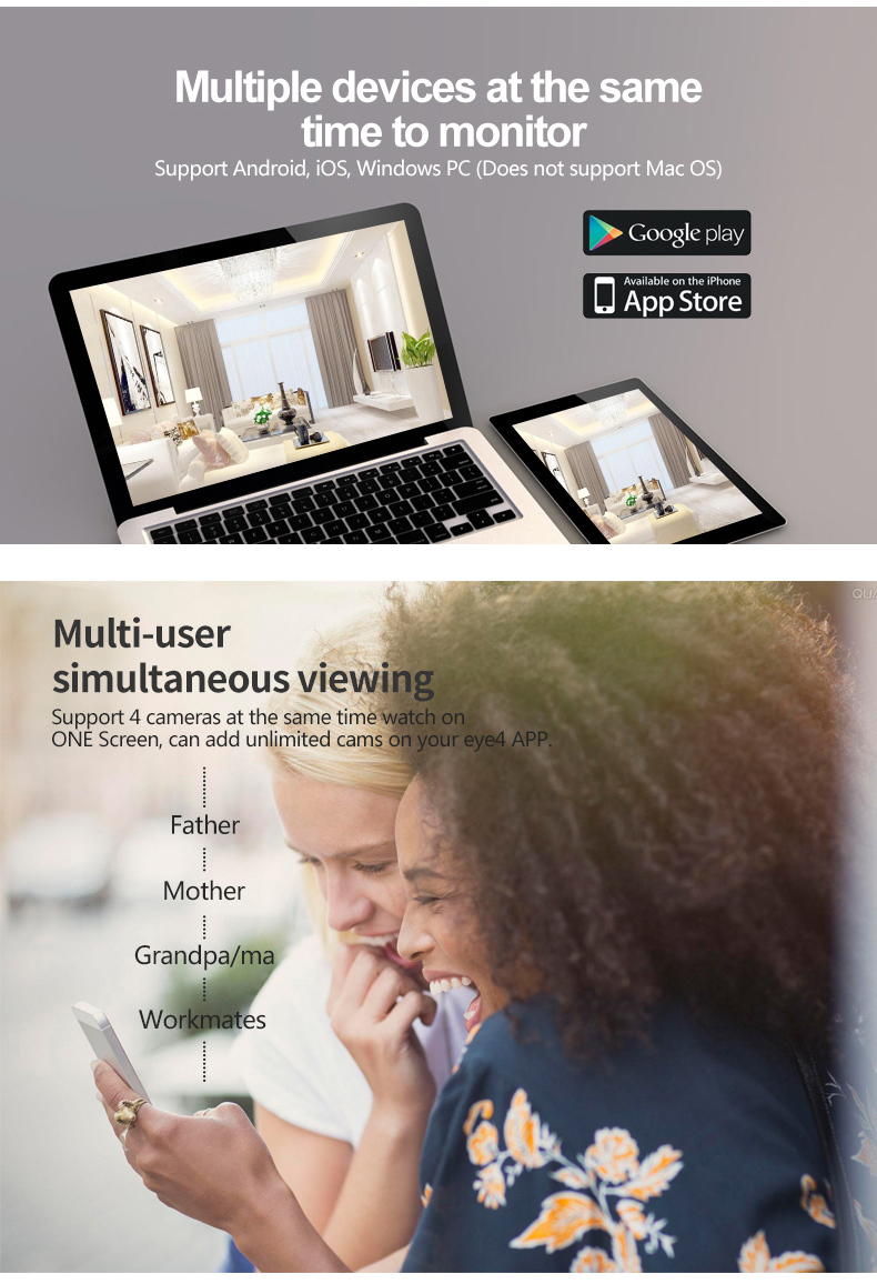 Vstarcam C29S 1080P Full HD Wireless IP Camera CCTV WiFi Home Surveillance Security Camera System Indoor PTZ Camera baby monitor 20