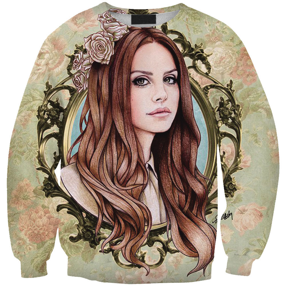 Sudaderas Mujer Women Clothing Fairy Mirror Beauty 3D Printed Hoodies Sweatshirt Fashion Pullover Long Sleeve Sudaderas Hot Sale