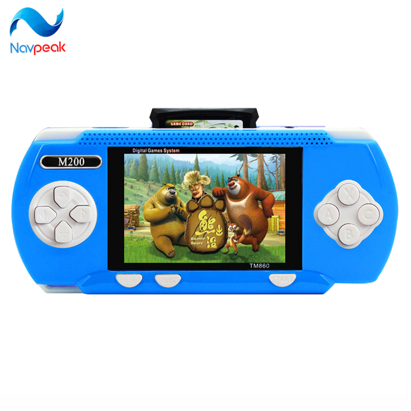 Hot The MOGIS M200 handheld game consoles children Digital Screen color PVP game console For Kids 1 pc