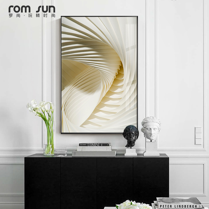 US $2.46 37% OFF|Modern architecture Canvas Painting Minimalist Style  Poster And Print For Living Room Bedroom Aisle Creative Wall Art Home  Decor-in ...