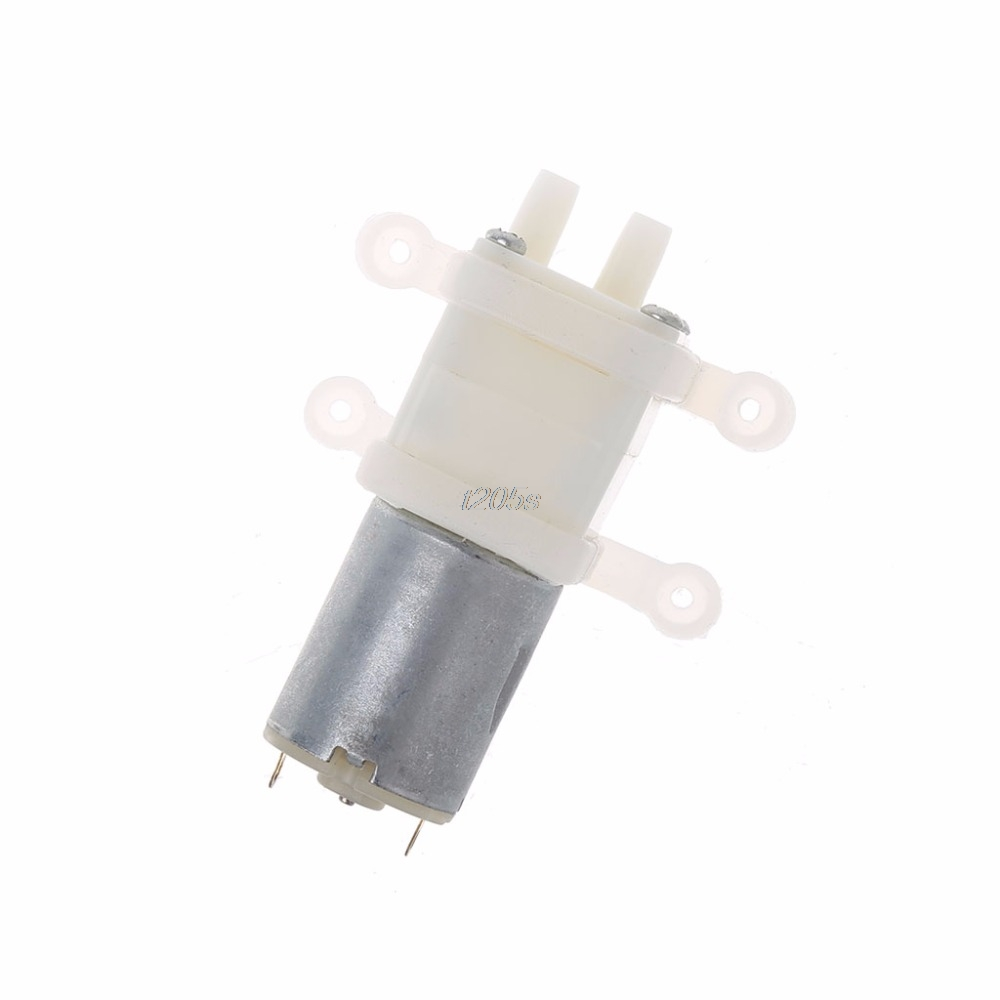Priming Diaphragm Mini Pump Spray Motor 12V Micro Pumps For Water Dispenser T12 Drop Ship