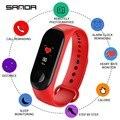 Смарт-часы SANDA для женщин  спортивные часы  фитнес-трекер  смарт-часы для мужчин  пульсометр  кровяное давление  Bluetooth  ios  android