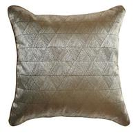 luxury classic geometric cushion cover sofa vintage pillowcase bronze gold throw pillow cover for back cusshion