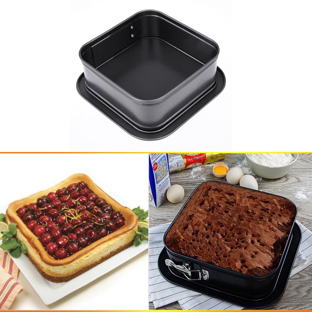 1 UNID de 6X6 Pulgadas Mini Quiche Tarta Molde de La Torta Herramientas de la Ho