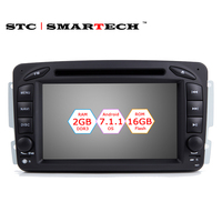 SMARTECH Android 7 1 1 OS 7 Inch Car DVD Player GPS Navigation For Mercedes Benz