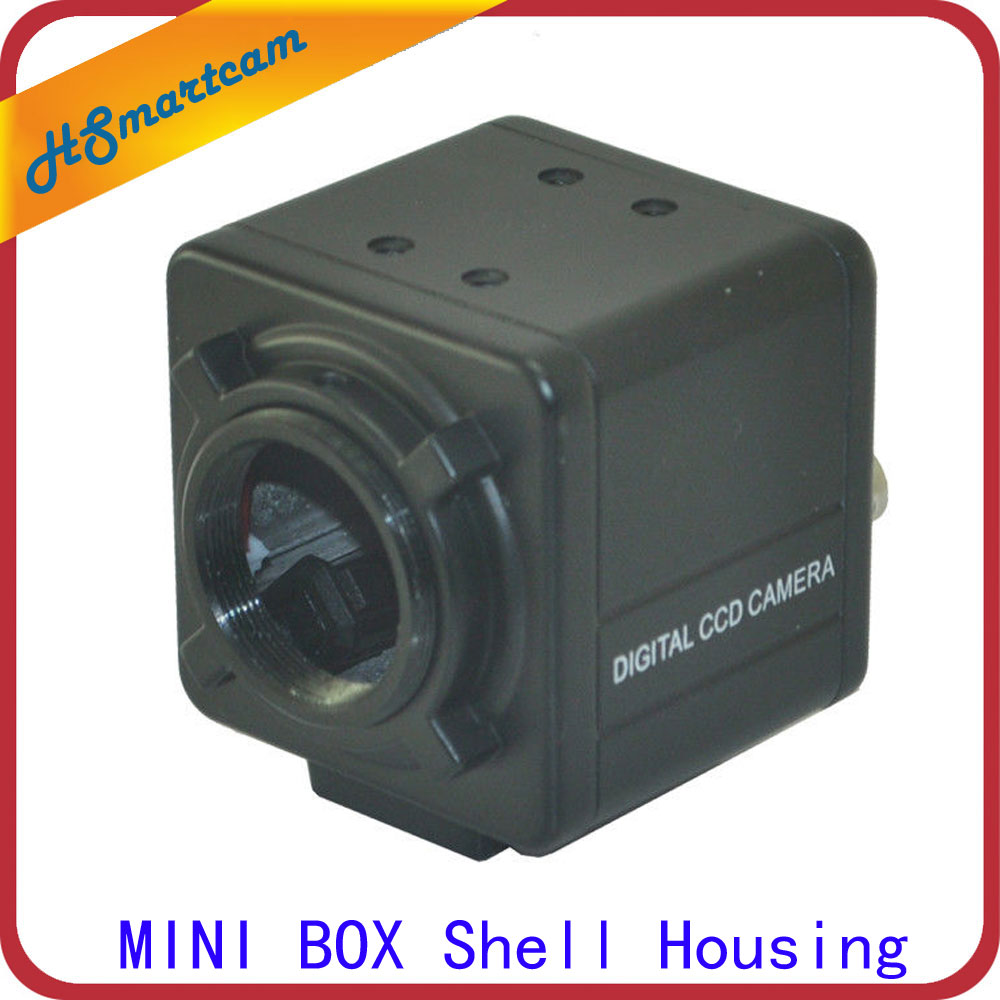 Aluminum Cover Material Protective Security CCTV Camera MINI BOX Shell Housing security cctv camera housing outdoor camera box clear glass without lens cutout led light aluminum alloy cover size240 135 100mm