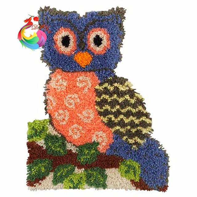 Rugs And Carpets Home Decoration Carpet Kids Embroidery Kits Latch Hook Rug