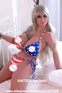 Image 3 - Настоящие силиконовые секс куклы KNETSCH 165 см, интимные игрушки для орального секса с большой попой, сексуальные куклы для мужчин, мастурбатор