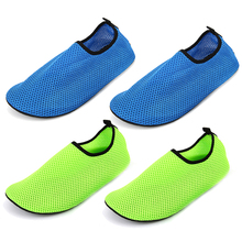 Adult Men and Women Neoprene + Nylon Mesh Submersible Thermal Swimming Aqua Fins Non-slip Diving Swimming Socks Yoga Exercise