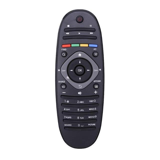 ユニバーサルリモコン適切なフィリップス対応のテレビ/dvd/auxリモートコントロールワイヤレスリモコンポータブルリモコン