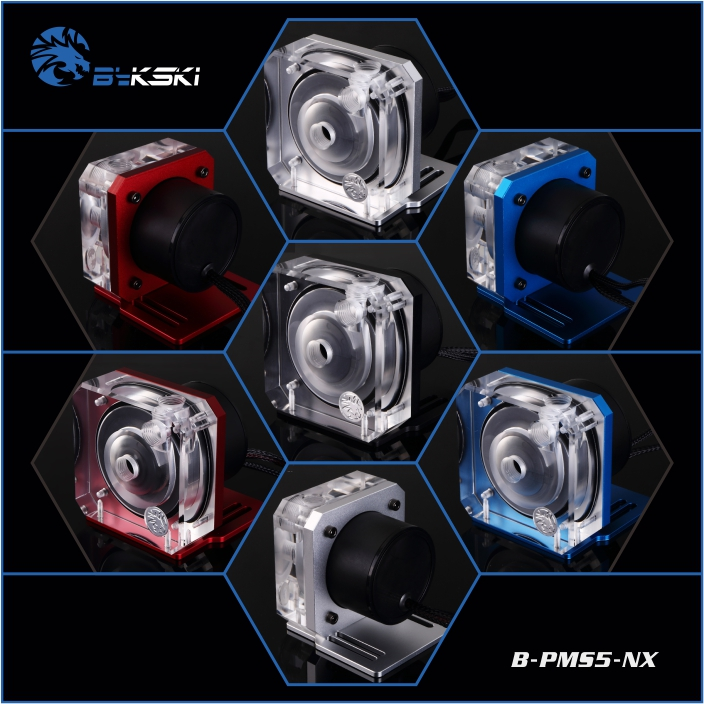 Bykski B-PMS5-NX Water Cooling Pump Laing MCP655 D5 1500L все цены
