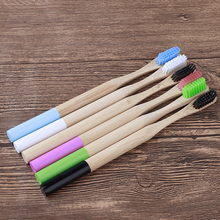 Natural Pure Bamboo Toothbrush Portable Soft Hair Tooth Brush Eco Friendly Brushes Dental Oral Care Travel wooden Tooth Brush