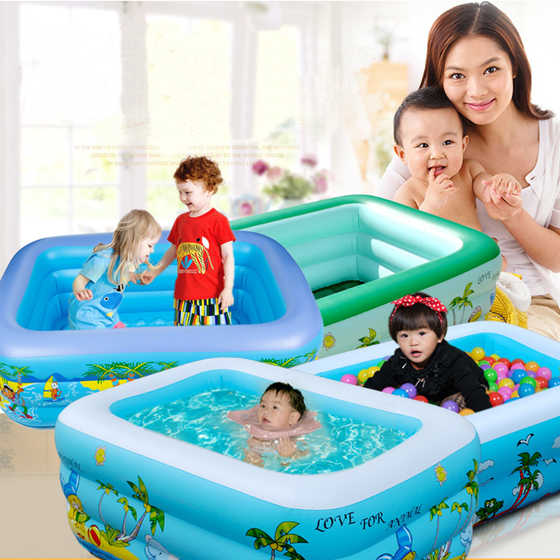 Outdoor Bathtub Inflatable Swimming Bool for Baby Stick pool Inflatable Pool Toys Banheira Inflavel Paddling pool For Children