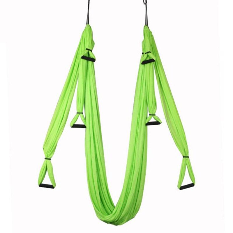 14 couleurs Remise En Forme De Yoga Hamac Swing De Yoga Anti-gravité Aérienne Bretelles Haute Résistance Tissu Décompression Hamac