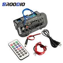 Car Bluetooth Digital Amplifier Board 25W Audio Amplifiers With USB dac FM Radio TF Player Subwoofer Amplificador For Speaker