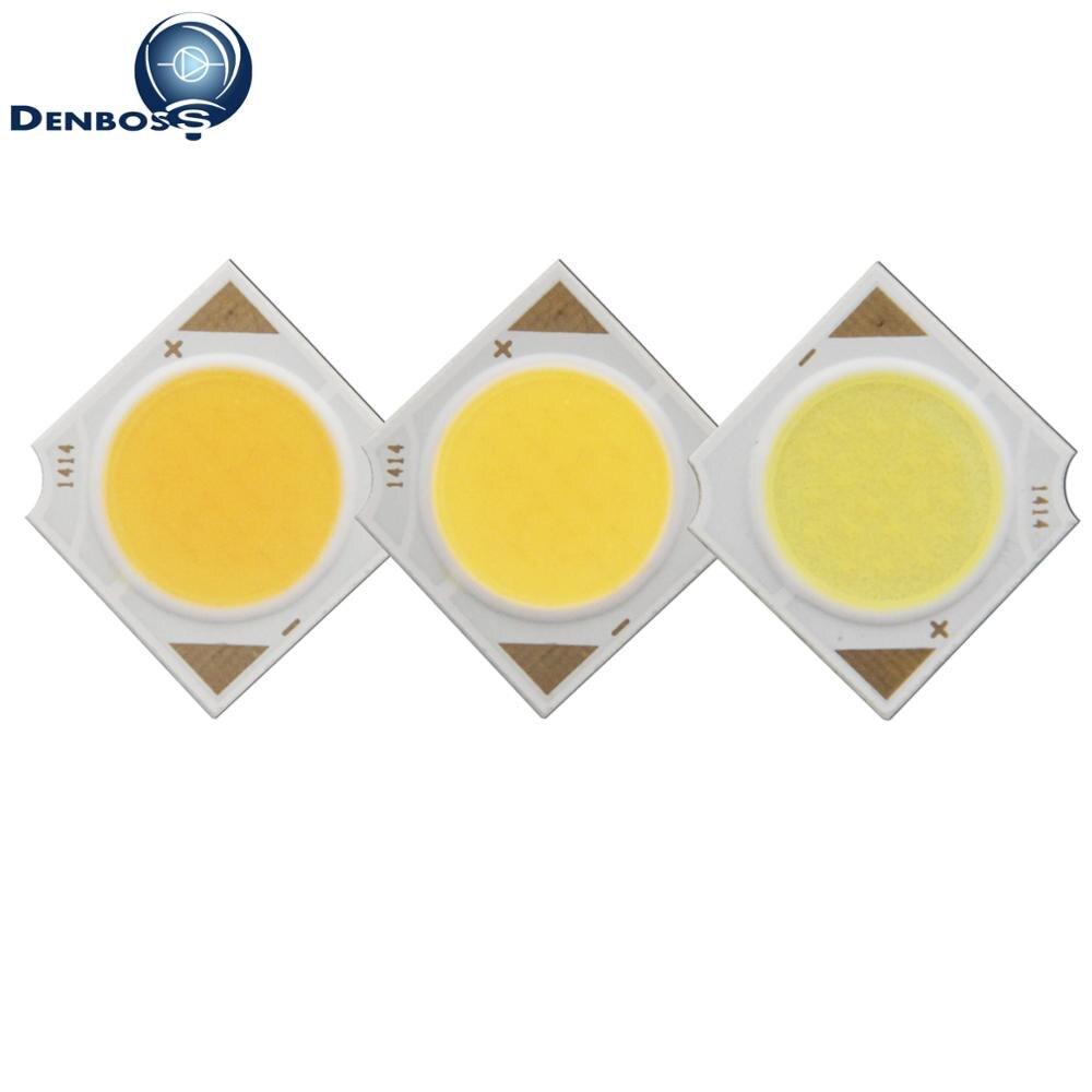 Allcob № 14x14 мм квадратный светодиодный источник света удара epistar 3 Вт 5 Вт 7 Вт 10 вт 12 Вт УДАРА светодиодный для прожектор лампа