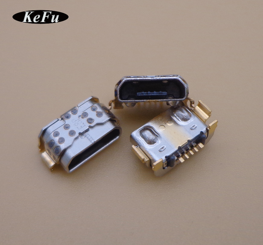 300pcs Micro USB Jack socket Connector plug Charging Port Dock for Huawei P9 Youth version LITE