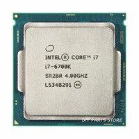 Intel core Quad core I7 6700K I7 6700 К I7 процессора LGA 1151 4,40 ГГц 6 м уровне 8 м Оперативная память DDR3L 1333, DDR3L 1600 DDR4 GPU HD530