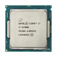 Intel core Quad core I7 6700K I7 6700K I7 Processor LGA 1151 4.40GHz 6M Level 8M RAM DDR3L 1333, DDR3L 1600 DDR4 GPU HD530