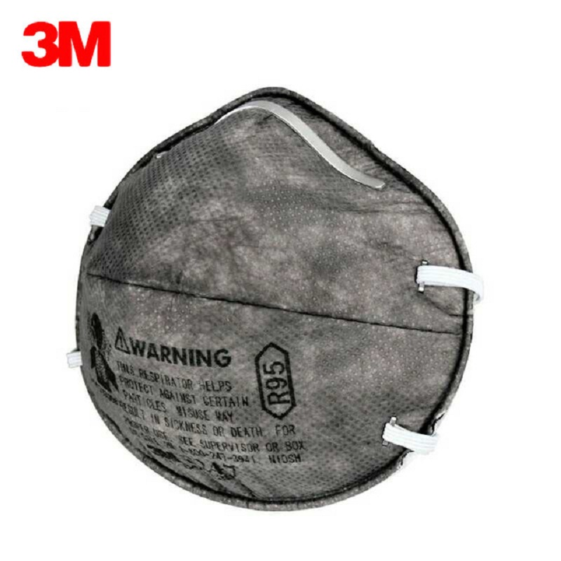 5/10pcs 3M R95 8247 Gas Mask Organic Vapors Formaldehyde Activated Carbon Filter Anti Oily Particle Smoke Weld Painting