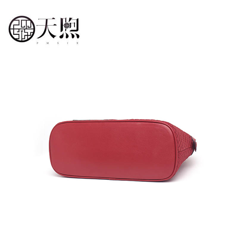 Femme Sac red Designer Black Nylon Messenger Femelle Nouvelle Tissu Gaufré Épaule Mode Vent 2019 Pmsix National Main À tYwSxqU