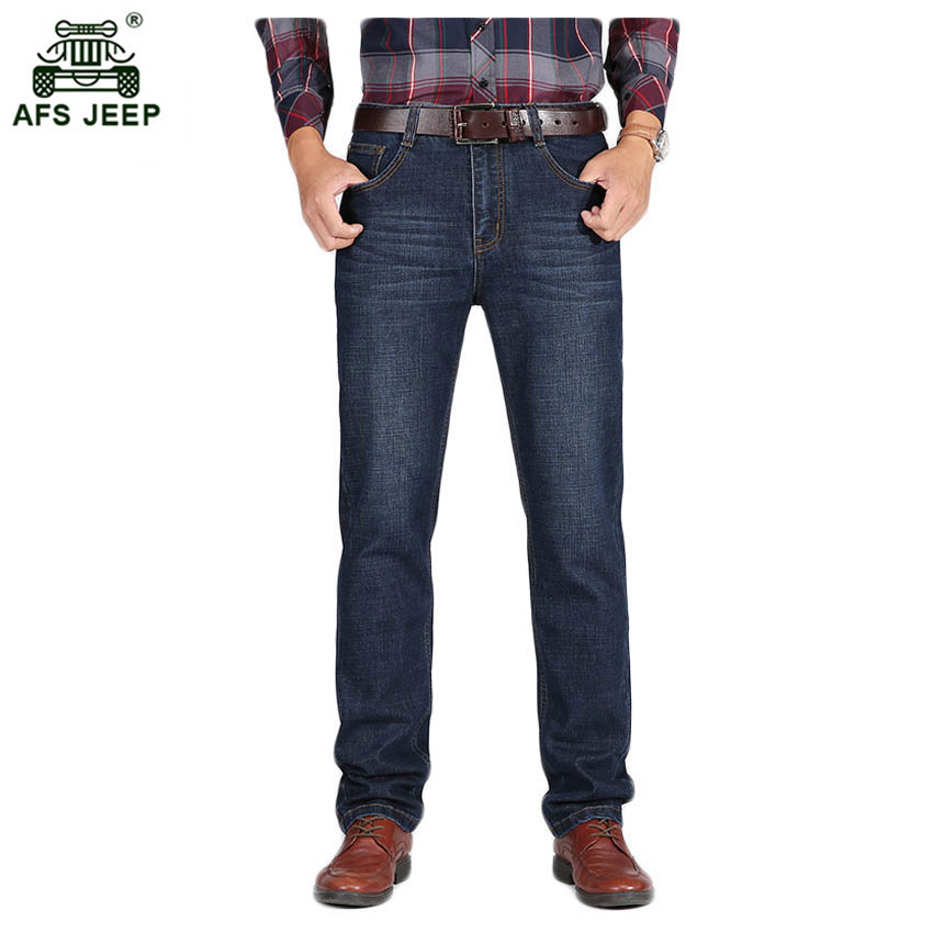 Free shipping Mens casual jeans Young Cotton stretch comfortable jeans trousers Large size thick jeans for men 72yw