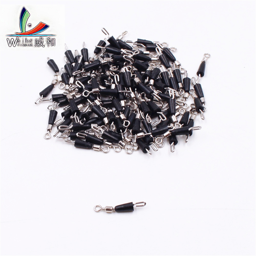 20pcs Ball Bearing Spinning Solid Rings Fishing Durable Quick Connector Ocean Lake Fish Boat Fast Hooks For All Fish Accessories