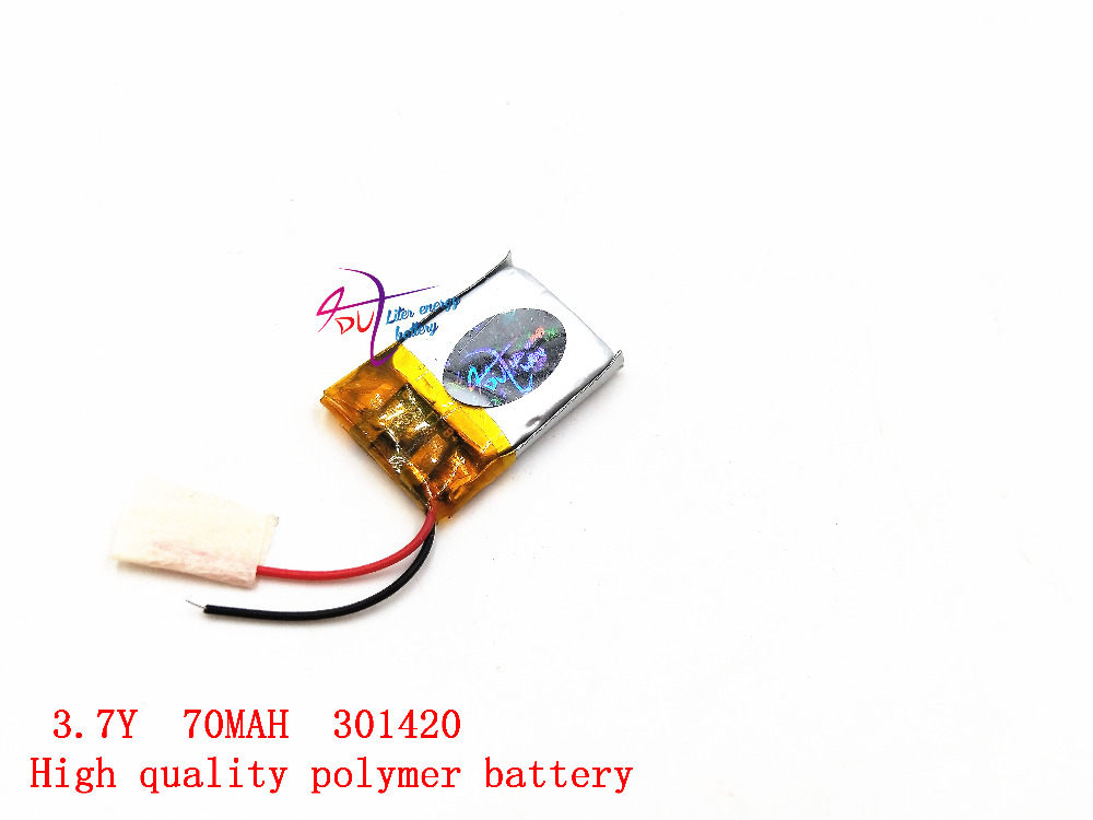 031420 301420 70MAH  MP3 Bluetooth headset small toys battery 3.7V lithium battery