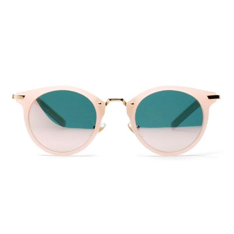 2018 Fashion Sunglasses Women Colorful Designer Vintage Sun Glasses Lady Round Shades Street Style Frames Eyewear