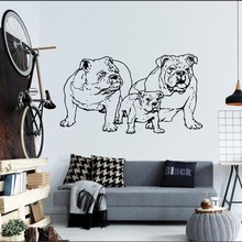 Wall Decal Vinyl Sticker French Bulldog Dog Puppy Breed Pet Animal Art Decor Living Bedroom Nursery DIY Poster Mural WW-376