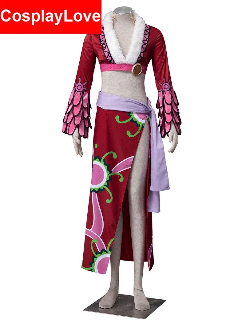 Высокое качество одна деталь косплэй Пират ИМПЕРАТРИЦА Змея принцесса Боа Хэнкок костюмы для косплея