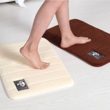 Non-Slip Back Rug Soft Bathroom Carpet Memory Foam Bath Mat 40*60 60*90 80*160CM Toilet Floor Shaggy D30