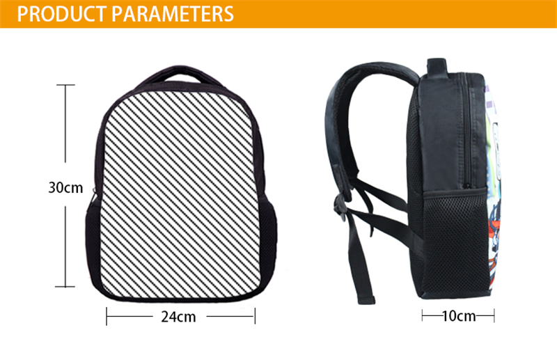 grim reaper crianças sacos de escola mochila