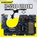 Отправить радиатора для asus ux303u ux303ub u303u Материнская плата ноутбука I7-5500 GT940M 4 Гб Оперативная память 100% работать нормально