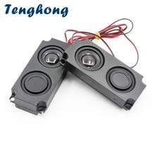 Computer Speaker Tenghong Portable Audio 4ohm 3w Home Theater 10045 2pcs LED Double-Diaphragm