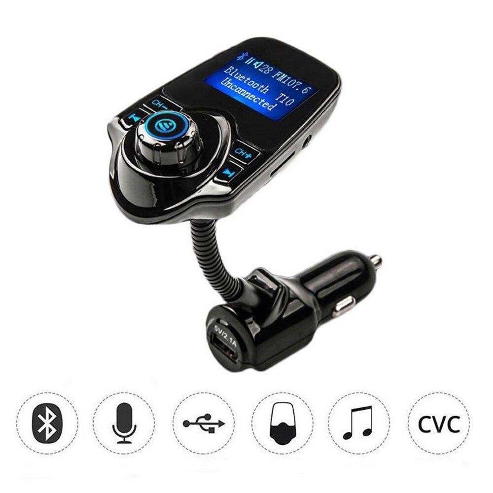 VEHEMO Bluetooth fm-передатчик аудио автомобиля mp3 плееры беспроводной в автомобиле FM модулятор музыка зарядное устройство Радио адаптер с ЖК-дисплей