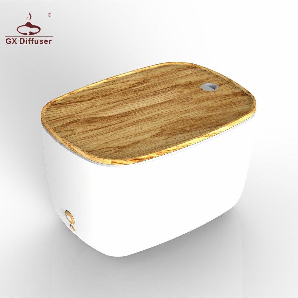 GX. Difusor 1.8L Temporizador Umidificador de Ar Aromaterapia Óleo Essencial Lâmpada LED Uilrasonic Difusor de Aroma Elétrica Difusor para Casa