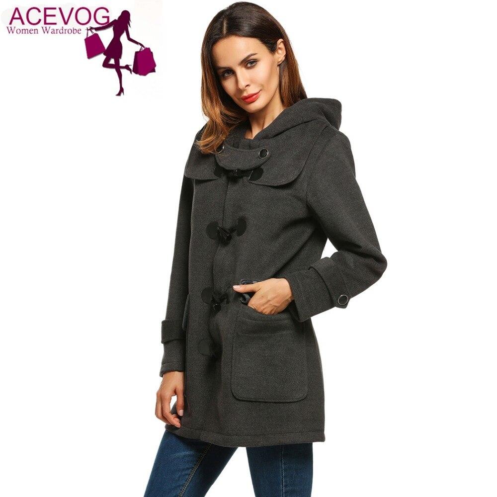 Online Buy Wholesale duffle coat woman from China duffle coat ...