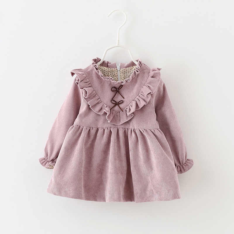2019 New Winter Newborn Dress Infant Baby Clothes Dress For Girl Clothing Princess Party Christmas Dresses Baby Spring 4ds101