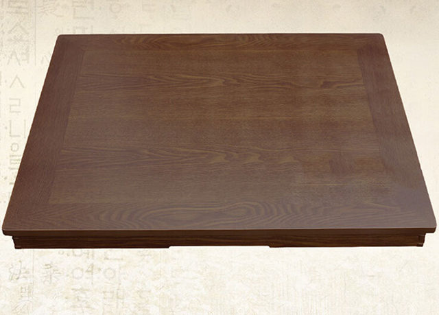 Online Shop Rectangle 90X75cm Korean Coffee Table Folding Leg Asian