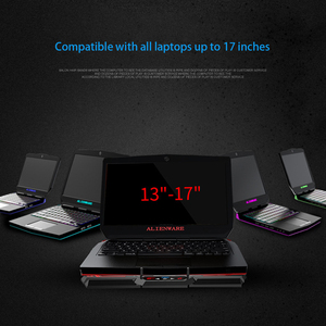 Image 4 - Laptop cooler 2 USB Ports and Six cooling Fan laptop cooling pad Notebook Stand for 12 15.6 inch for Laptop